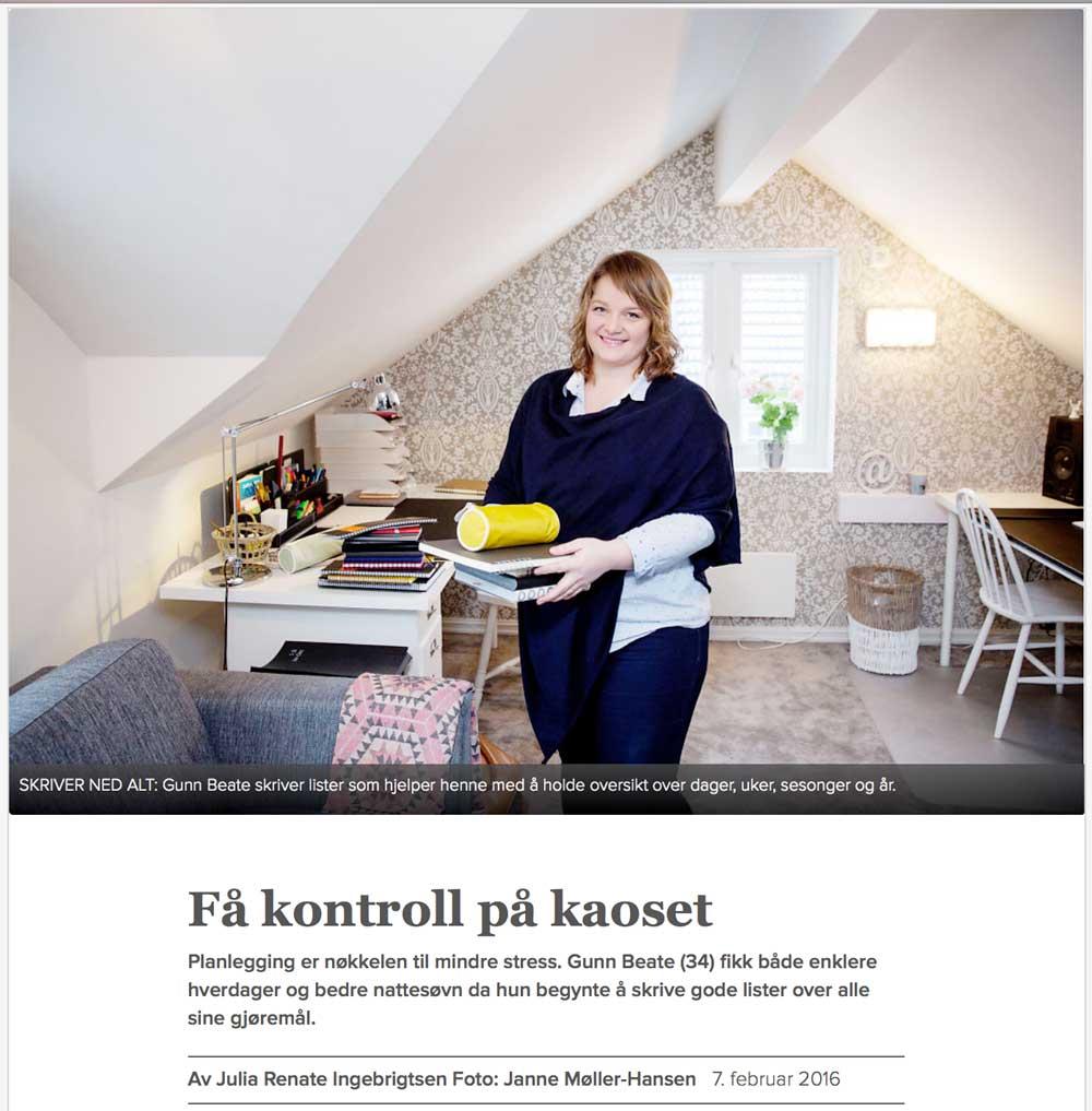 Listelykke i VG / Listelykke