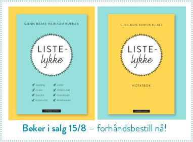 Forhåndsbestill Listelykke 382×281